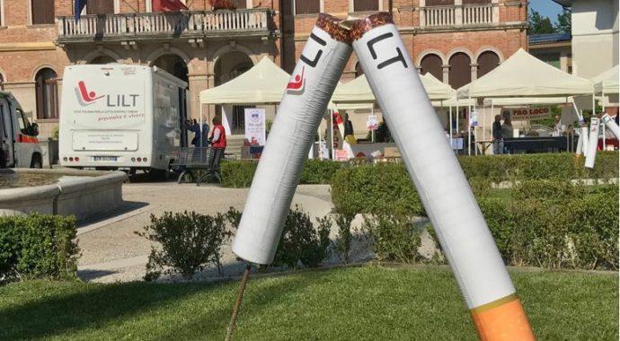 30.05.2018 LILT e Comune di Ponte di Piave contro il fumo