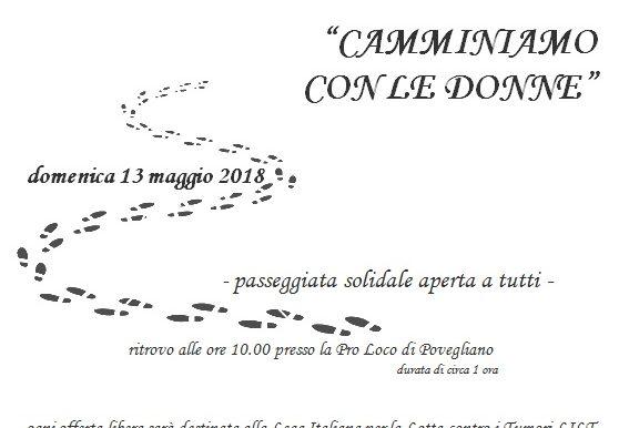 Passeggiata solidale a Povegliano
