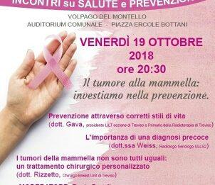 19.10.2018 Incontro sulla prevenzione a Volpago del Montello