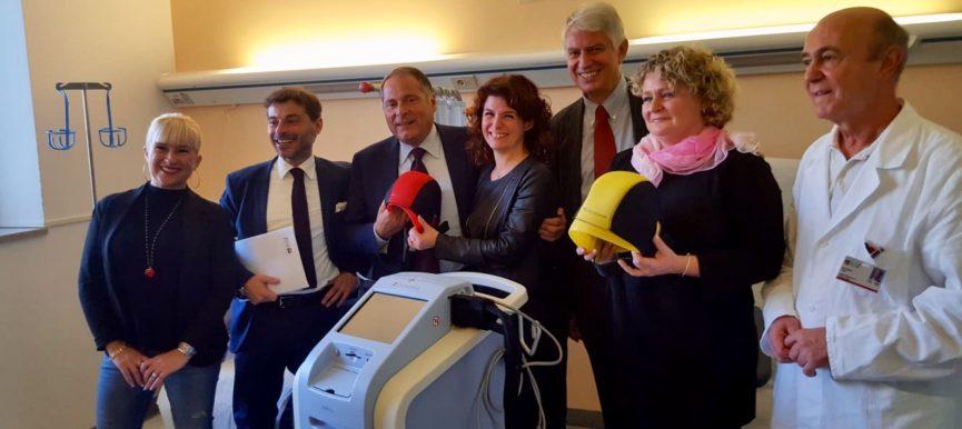 14.11.18 Consegnati i caschetti refrigeranti in Oncologia a Vittorio Veneto