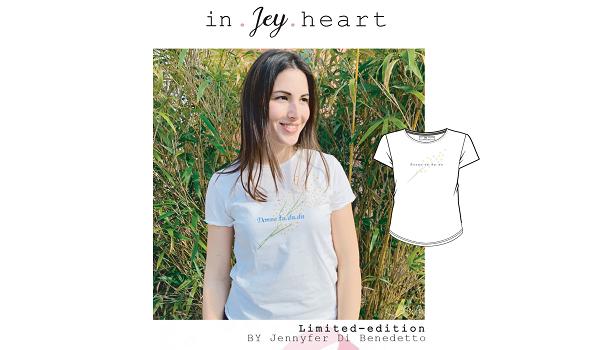 Una t-shirt fatta con il cuore!
