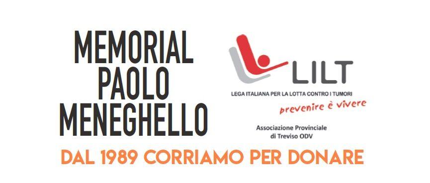Memorial Paolo Meneghello: dal 1989 corriamo per donare