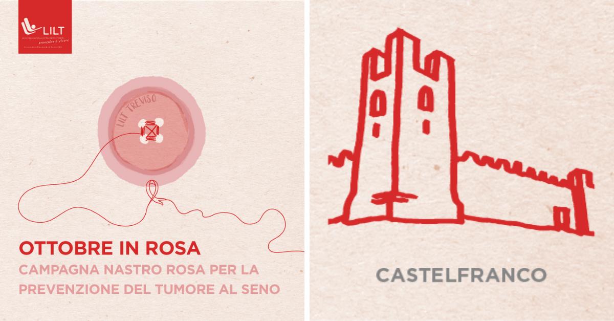 L'Ottobre in Rosa della Delegazione di Castelfranco Veneto