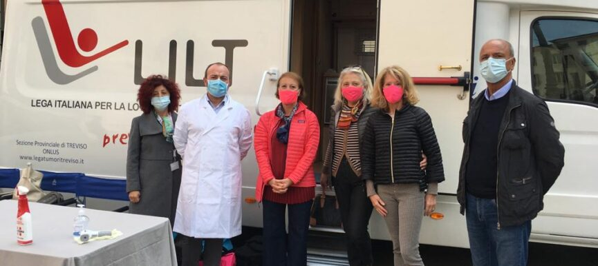 Un grande successo per le visite senologiche gratuite a Treviso