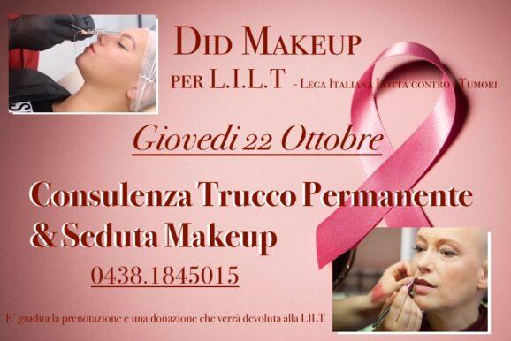 A Vittorio Veneto il Giovedì rosa firmato DID Makeup!