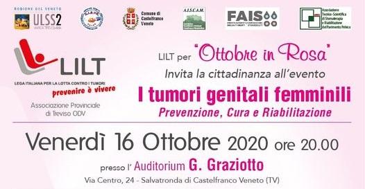 """A Castelfranco il convegno """" I tumori genitali femminili"""""""