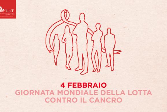 4 febbraio: giornata mondiale per la lotta contro il cancro
