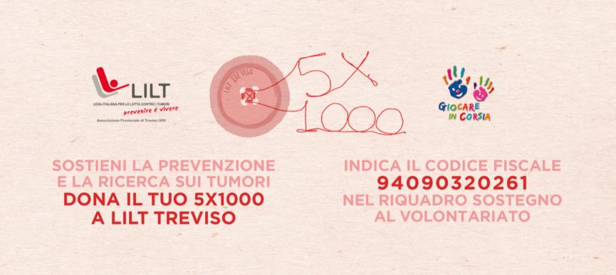 Dona il tuo 5X1000 a LILT Treviso ODV