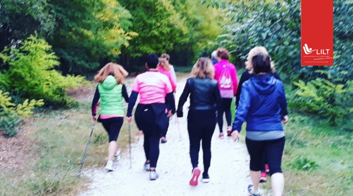 Gruppi di cammino con la delegazione LILT Treviso