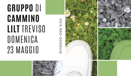 Domenica 23 maggio con il Gruppo di Cammino LILT Treviso