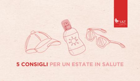 Prenditi cura della tua pelle anche in estate