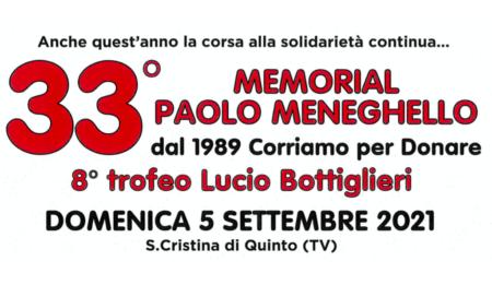 Correre per donare: 33° edizione Memorial Meneghello