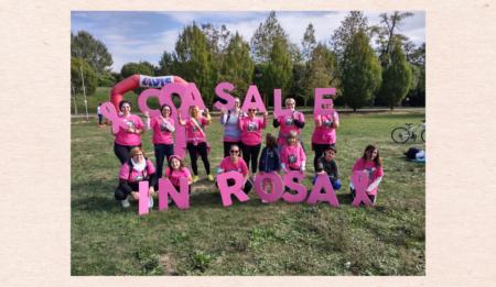 Casale in rosa: la camminata dedicata alle donne