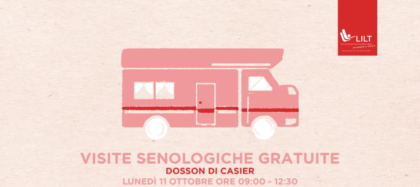 Visite senologiche gratuite a Dosson di Casier